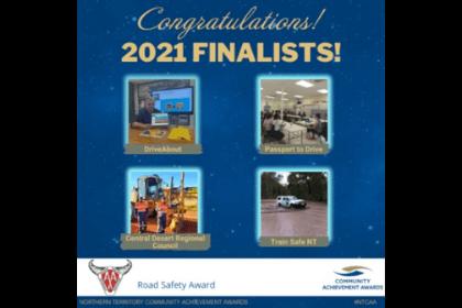 AANT Road Safety Award Finalists 2021 winners